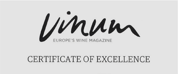 Logo Vinum Certificate of Excellence